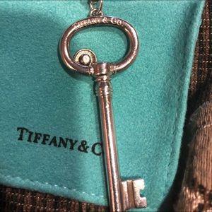 "Authentic Tiffany key necklace"""